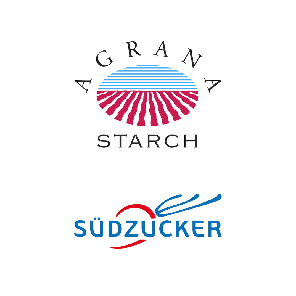 AGRANA Starch and Südzucker Logos